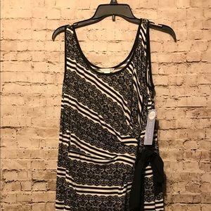 London times long maxi shorts sleeve dress 14W